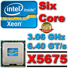 Intel Xeon hex core x5675 12m cache 3,06 ghz 6,40 GT / s slbyl (max turbo 3,46 ghz)
