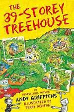 THE 39 - STOREY TREEHOUSE by ANDY GRIFFITHS & TERRY DENTON ~ New Paperback Book