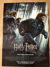 Filmposter * Kinoplakat * A1 * Harry Potter 7.1 * Die Heiligtümer des Todes * E