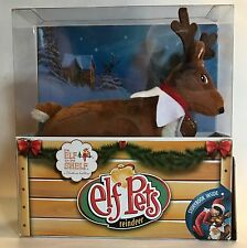 Elf on a Shelf PET REINDEER PLUSH w/charm & BOOK Christmas Tradition SEALED BOX!