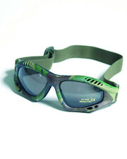 Commando AIR PRO Goggles - WOODLAND CAMOUFLAGE TINTED Airsoft Paintball Army