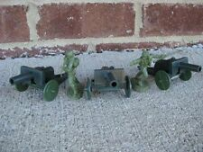 MPC WWII Anti-Tank Guns Cannons Artillery Set 54MM 1/32 Toy Soldier