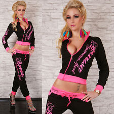 Sexy Redial Womens  Hoodie Ladies Tracksuit Jogging Set Size S М L