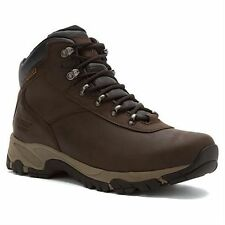 Hi-Tec Mens Altitude Brown Waterproof Leather Altitude Walking Boots Size 20