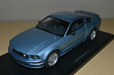 Autoart 2005 Ford Mustang GT Windveil Blue 1/18 RARE Limited one of 6000
