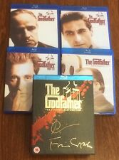 Hand Signed BLU RAY Set ANDY GARCIA - GODFATHER TRILOGY - Brando Pacino + my COA