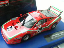 "Carrera Digital 132 30577 Ferrari 512 BB LM Bellancauto ""No. 79"", 1980 nouveau OVP"