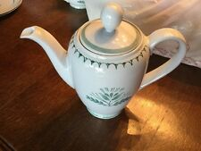 Arabia of Finland Green Thistle , Coffee Pot, Free Shipping
