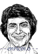 Roy Black Tuschezeichnung, Portrait, Unikat