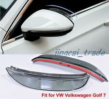 Side Rearview Mirror Sun Rain Guard Visor for VW VOLKSWAGEN GOLF MK 7 2013~2015