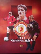 PANINI LIKE COMPLETE BINDER + ALL 100 TRADING CARDS MANCHESTER UNITED 1997