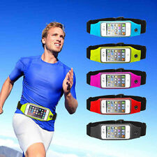 "For iPhone 6S Plus 5.5"" Phone Waterproof Gym Waist Bag Sport Running Pouch Case"