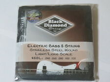 Black Diamond 450LStainless Steel bass 5 strings  FREE SHIPPING Canada!