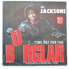 """MAXI 12"""" THE JACKSONS BO Film OST Burglar 258 424 0"""