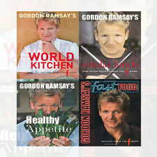 Gordon Ramsay Collection 4 Books Set Pack (Healthy Appetite,Fast Food,Sunday) UK