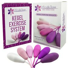 Intimate Rose Kegel Exercise Weights - Doctor Recommended for Bladder Control...