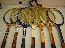 Mini collezione di racchette in legno lotto 4