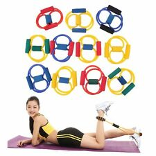 FITNESS EQUIPMENT ELASTIC RESISTANCE BANDS TUBE WORKOUT EXERCISE BAND FOR YOGAAP