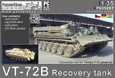 VT-72B Recovery Tank CCCP resin conversion 1/35 PanzerShop Tamiya PS35267
