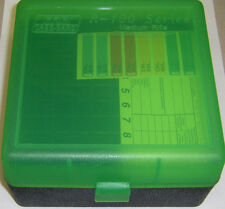 MTM Case Gard™ New Plastic Ammo Box 100 Rd RM-100-16T Rifle 308 6MM 243 GREEN