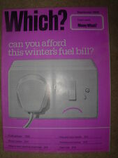 VINTAGE WHICH MAGAZINE SEPTEMBER 1976 FUEL PRICES - STEREO TUNERS - MONEY WHICH