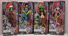 LOT 4 Doll - Monster High Ghouls Getaway JINAFIRE + SPECTRA + MEOWLODY + JANE