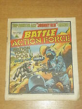 BATTLE ACTION FORCE 27TH JULY 1985 BRITISH WEEKLY IPC MAGAZINE
