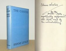 Shane Leslie (Winston Churchill's cousin) - The Cantab - Signed - 1st/1st