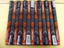 13 Golf Pride New Decade MultiCompound Plus4 Red Golf Grips .600 Round Authentic
