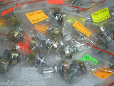 62 PC potentiometers 100 k 10K 1K 1M 200K 20K 250K 2K 500K 500R 50K 5K Lin log