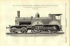 1892 Four-cylinder Compound Express Locomotive Northern Railway France