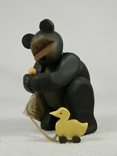 Pozy Bears 'Friends Of A Feather' - Bear With A Duck Figurine  #320018  NIB