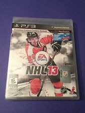NHL 13 for PS3 NEW