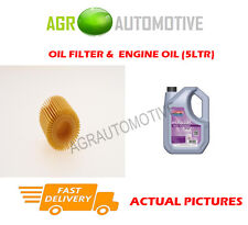 PETROL OIL FILTER + FS 5W30 ENGINE OIL FOR DAIHATSU SIRION 1.3 87 BHP 2004-10