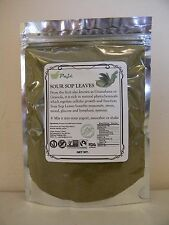 GRAVIOLA LEAF powder 4oz 1/4lb  Guanabana SourSop Cell health