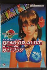 JAPAN Dead or Alive Paradise Guide Book