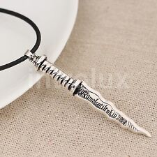 Once Upon A Time Rumpelstiltskin Dagger Pendant Necklace - Brand New