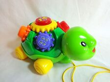 Vtech Roll and Learn Turtle Pull Along Electronic Musical Learning Toy 1431