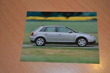 PHOTO DE PRESSE ( PRESS PHOTO ) Audi A3 de 1999  AU205