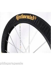 Pair 2 New Continental Tire Wheel Covers Road Track Tour Gator Skin Tubular Tyre