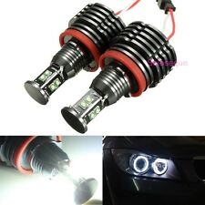 80W LED Ojo de Angel Luz Bombilla Lampara H8 No Error For BMW E92 E93 E63 E70 X5