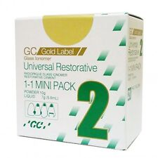 GC fuji II Restorative Glass Ionomer Cement Mini pack