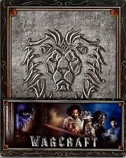 Warcraft: The Beginning Limited Edition SteelBook w/Alliance Slip Region Free KR