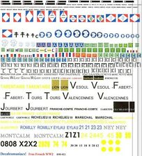 1/35 Decals, Decalcomaniacs, Free French Markings