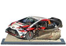 LATVALA, RALLY MONTE CARLO 2017, TOYOTA I20 WRC , Reloj en modela miniatura, 06