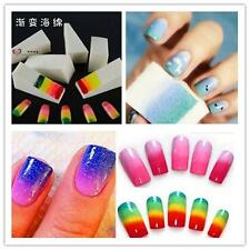 8X Lots Nail Art Sponge Polish Painting Stamping Sticker Transfer Manicure Tool