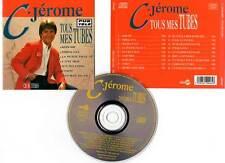 """C. JEROME """"Tous Mes Tubes"""" (CD) 18 Titres 1992"""