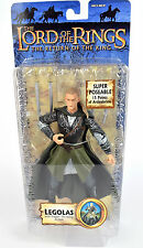 """Lord Of The Rings Trilogy Super Poseable LEGOLAS 6"""" Action Figure ROTK Toy Biz"""