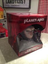 PLANET OF THE APES CAESARS WARRIOR COLLECTION DVD BLU-RAY FIGURE BUST & BOOK SET