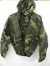 Woodland Camo Two Piece Portable Rain Size Small Suit 22AA010-S EB01407